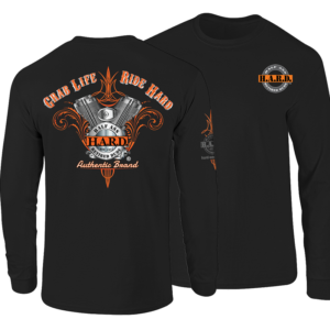 Bad Ass Biker Long Sleeve shirt for men