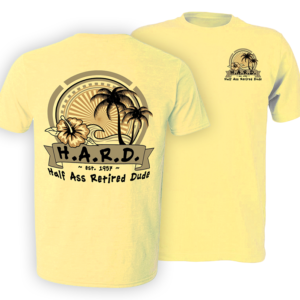 Chillin' Palm Butter t shirt