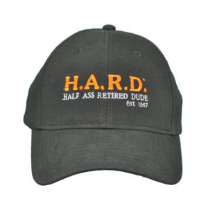 H.A.R.D. Hat Black