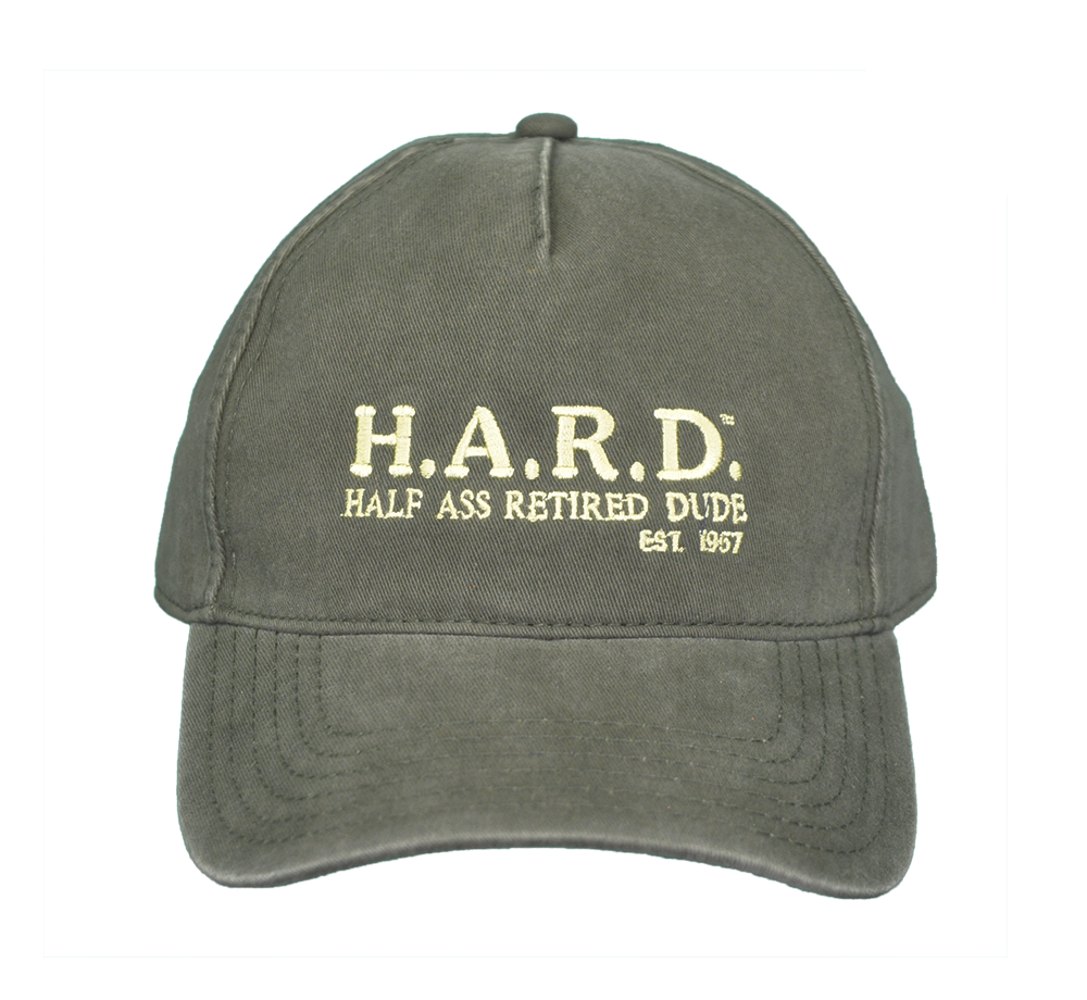H.A.R.D. Hat Olive
