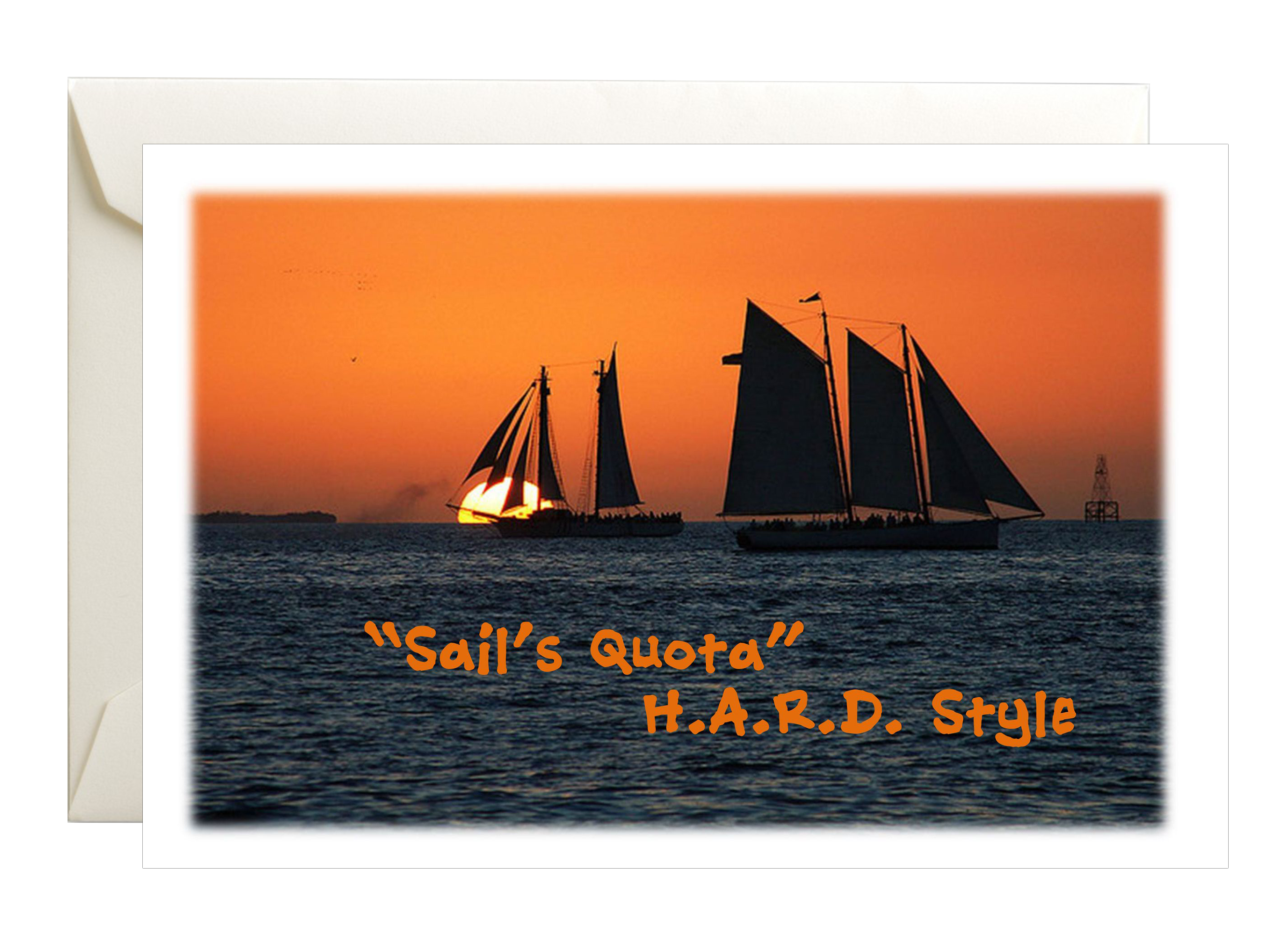Sail's Quota Postcard