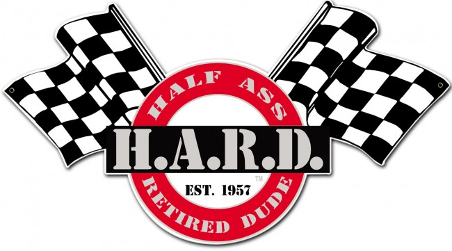 HARD Flag Sign - Clean