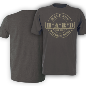 H*A*R*D Pepper colored men's t-shirt