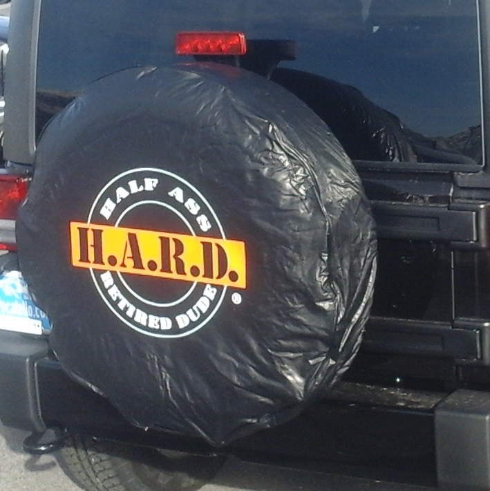 half ass retired dude rv spare tire cover